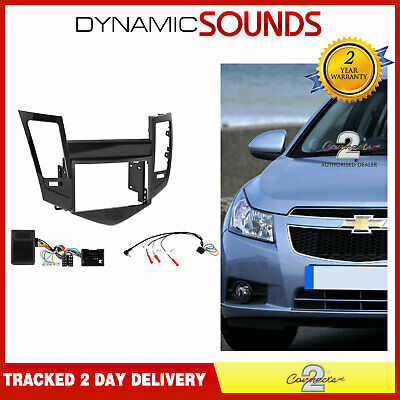 CTKCV01 Double Din Car Stereo Fascia Fitting Kit for Chevrolet Cruze 2008 - 2012