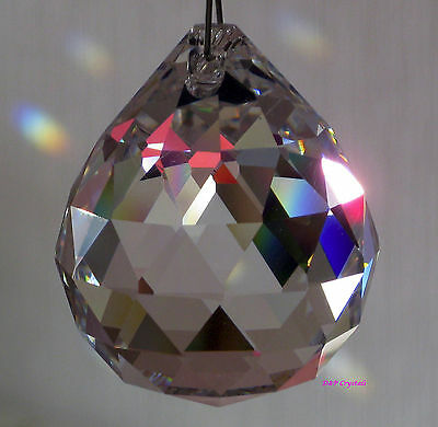 Hanging Crystal Ball Sun Catchers  Rainbow Prisms Feng Shui (Large)