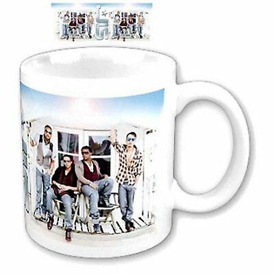 JLS Beach House Hut Photograph Image White Coffee Mug Cup Boxed Official Gift