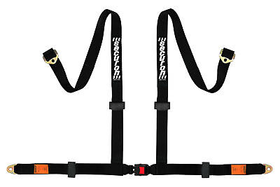 NEW Securon 629/Black 4Point Harness with Anchor Plates