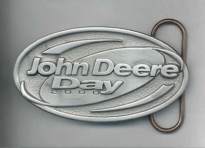 2000 John Deere Day Pewter Belt Buckle NEW