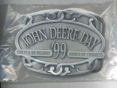 1999 John Deere Day Pewter Belt Buckle NEW