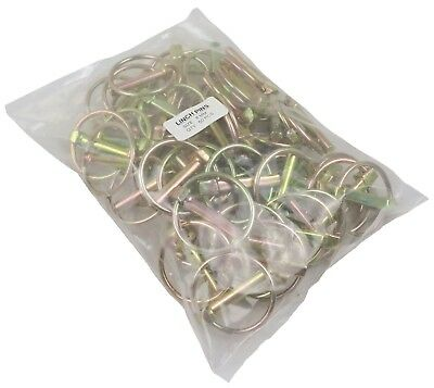 50x 8mm Linch Lynch Pins Tractors Trailers Farms & Agricultural Machinery MT113