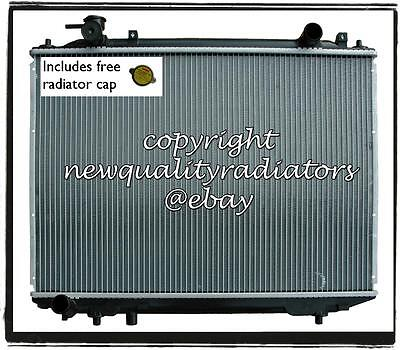 Ford Courier Mazda Bravo H/DUTY Radiator 96-06 Manual 34mm thick core