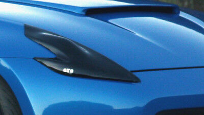 GTS Headlight Covers - Smoked for Nissan 370Z 09+ Z34
