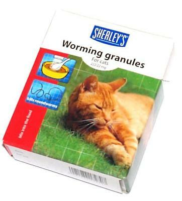 Worming Wormer Granules Powder for Cats Cat Dewomer New