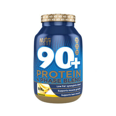 Nutrisport 90+ Protein 908g whey isolate 1kg Whey Protein - All Flavours
