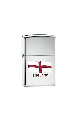 Zippo English Flag Lighter Personalised Engraved Free