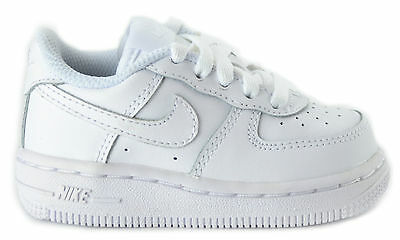 Nike Air Force 1 Toddlers Uptown Classic Leather Low Top White Shoes 314194-117