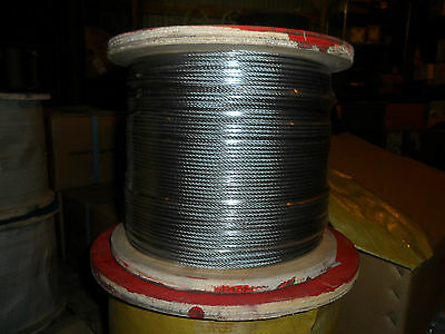 "1/8"" Stainless Steel Cable - 7 x 7"