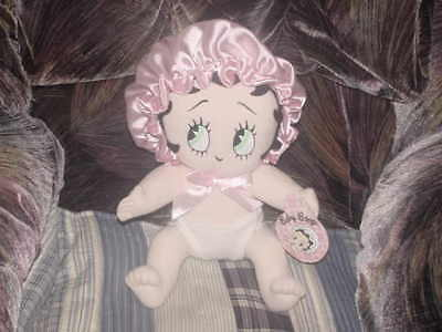 "12"" Baby Betty Boop Plush Doll With Tags Very Cute"