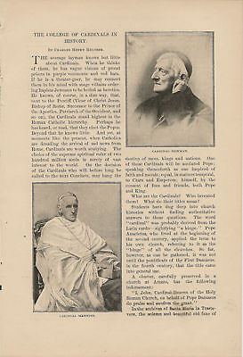 1898 College of Cardinals History Catholic article