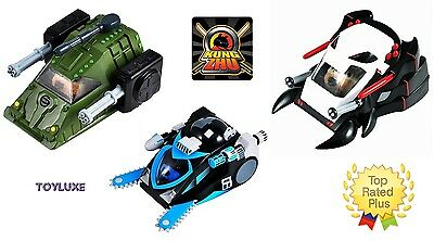 Kung Zhu Pets Hamster VEHICLE Buzzsaw Rhino Spider Tank Car Special Forces Ninja