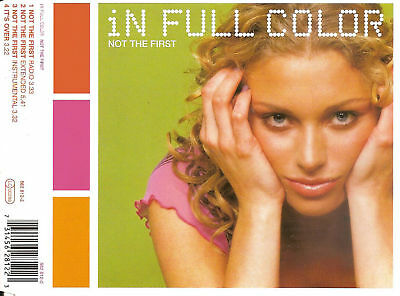 IN FULL COLOR - Not the first CDM 4TR eurodance Trance  HOLLAND 2000
