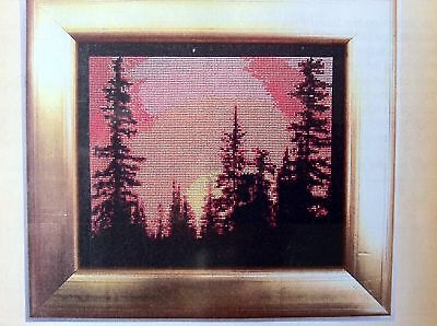 """Sunset"" Cross Stitch Chart"