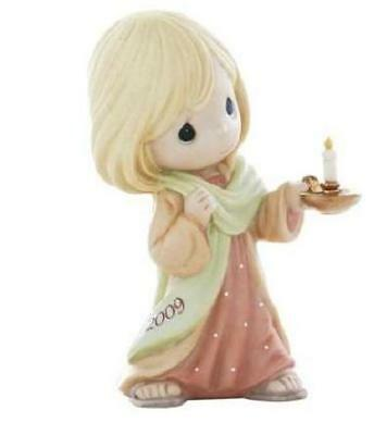 May Your Faith Light The Way Precious Moments Figurine New In Box Free Ship Us