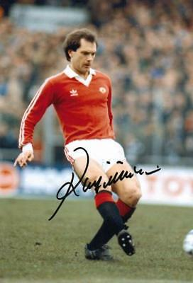 Ray Wilkins Signed 12x8 Photo AFTAL/UACC