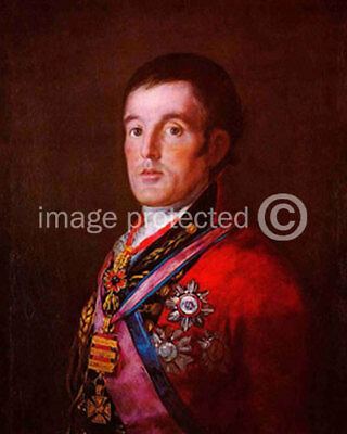 de Goya CANVAS PRINT Portrait of the Duke of Wellington