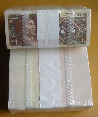 1000 Pieces China 1980 Banknote 1 Jiao Unc Free Ship