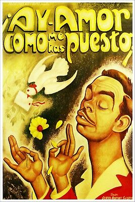 Soledad Vintage reproduction giclee Mexican Cinema Poster 24x36 inch