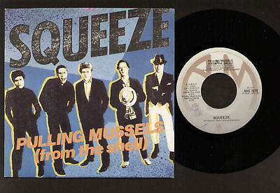"""7"""" Squeeze Pulling Mussels Italy Great Copy Punk Rock"""