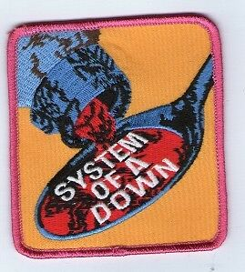 Embroidered Iron On Patch System Of A Down Spoon