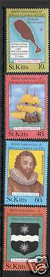 St Kitts 1985 Christmas SG 181/4 MNH