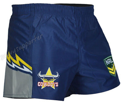North Queensland Cowboys 2018 NRL Home Footy Shorts Adults & Kids Sizes BNWT
