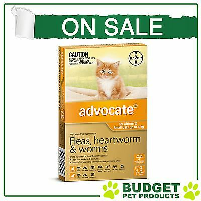 Advocate For Small Cats Up To 4kg 3 pack