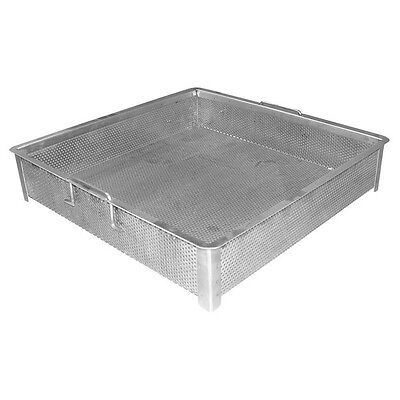 "Compartment Sink Drain Basket 20""x20"""