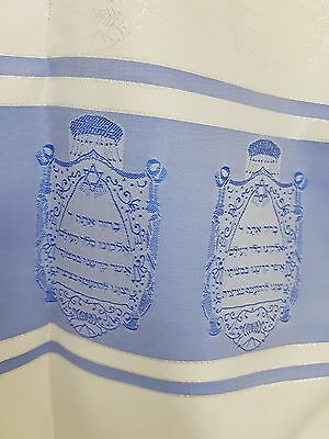 Tallit Thallit Messianic PRAYER SHAWL 50X150 SILK +GIFT From Israel 100% Kosher