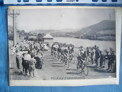 Tour De France 1953 Photo Presse Originale Peloton