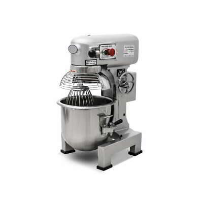 Brand New Commercial 15 Litre Planetary Mixer 600W Motor Plug 3 Attachments