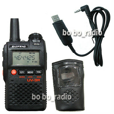 UV-3R BAOFENG136-174/400-470Mhz +USB cable + Earpiece