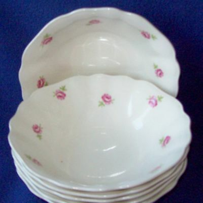 "4 J & G MEAKIN  ENGLISH ""LADY ALICE"" SAUCE BOWLS-5 1/4"""