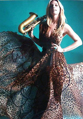 Candy Dulfer signed sexy 5x7 photo / autograph