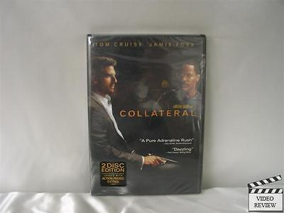Collateral (DVD, 2004, 2-Disc Set) Brand New Tom Cruise