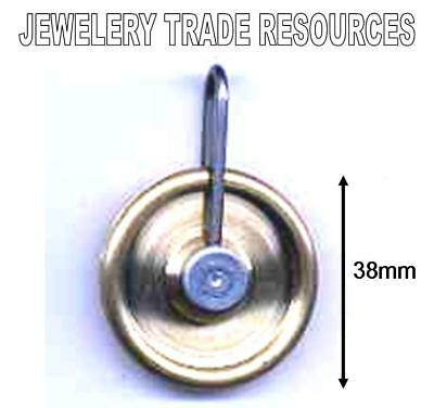 NEW REPLACEMENT BRASS CLOCK PULLEY GUT LINE PULLY 38mm