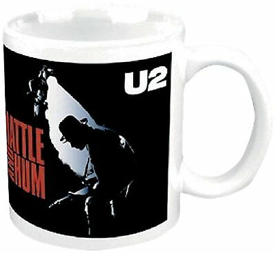 U2 Rattle And Hum Boxed White Coffee Gift Presentation Mug Official Album Cover