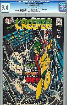 Cgc Beware The Creeper, D.c Ditko, 5 Nm 1969 0986921003