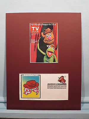 Jim Henson - The Muppet Show & First Day Cover of the Fozzie Bear stamp