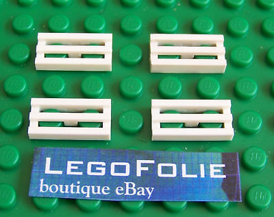 Lego ® 10x Plaques Bleues 2x1 Blue Tile Plate Modified Grille Ref Lego 2412