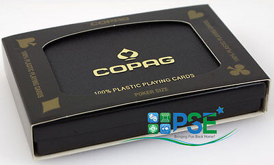 Copag 100% Plastic Poker Size Playing Cards 1546 Design