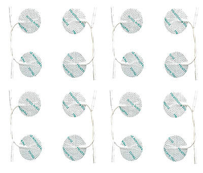 16 ROUND TENS ELECTRODE PADS Reusable for Tens Machines