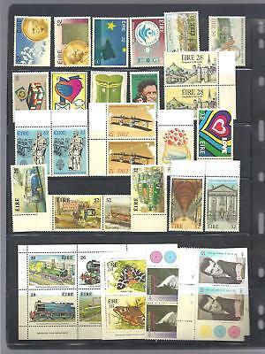 Ireland Stamps 1984-1994 Complete Sets Mnh Cat 41 Euro