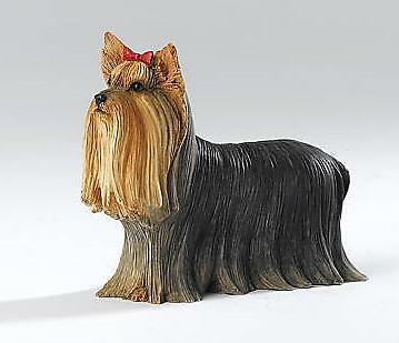 Statue de collection COUNTRY ARTISTS - chien YORKSHIRE DEBOUT