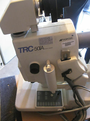 Topcon TRC 50IA With Digital Camera and computer