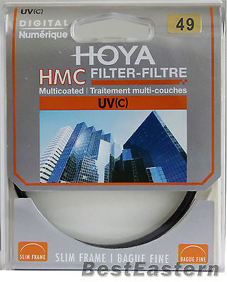 HOYA 49mm HMC UV (C) Digital Slim Frame Multi-Coated Filter