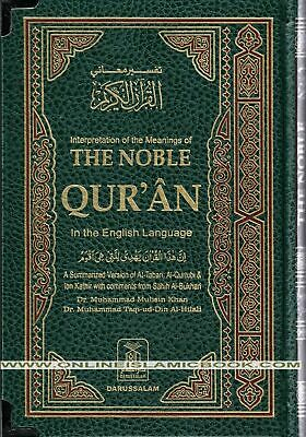 The Noble Quran English and Arabic, Standard Size (Urdu,Pakistani Script Arabic)