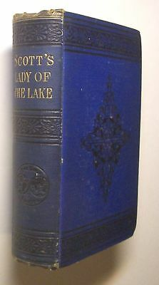 THE LADY OF THE LAKE Sir Walter Scott 1876 Notes ITALY - N